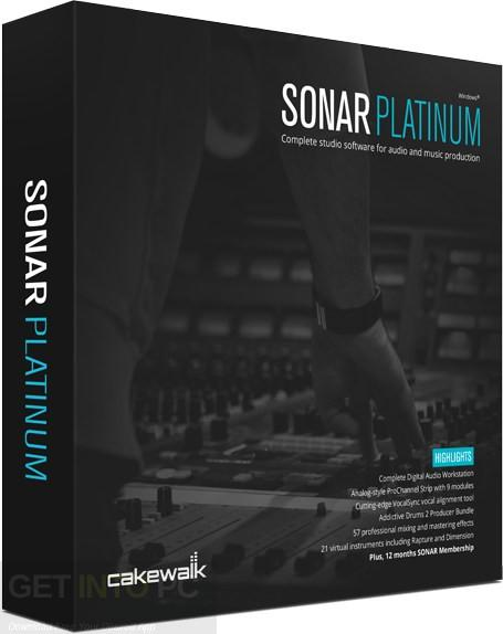 Download Cakewalk SONAR Platinum 23 With Plugins and Content