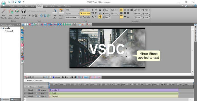 VSDC Video Editor for Windows Free Download