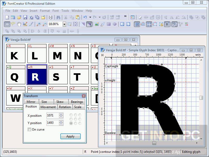 Font-Creator-v6.0-Professional-Offline-Installer-Download