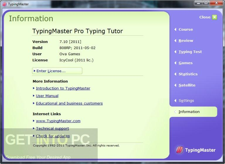 Typing Master Pro v7 Free Download