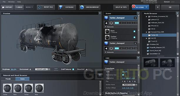 Video-Copilot-Element-3D-2.2.2-CE-3D-Packs-Pixel-Lab-Material-Pack-Direct-Link-Download_1
