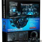 Video-Copilot-Element-3D-2.2.2-CE-3D-Packs-Pixel-Lab-Material-Pack-Download