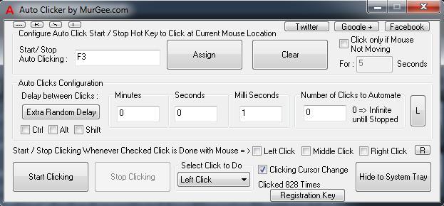 MurGee Auto Clicker Free Download