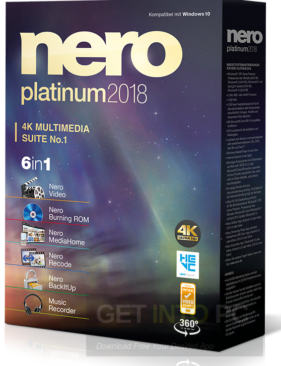 download nero software full version free