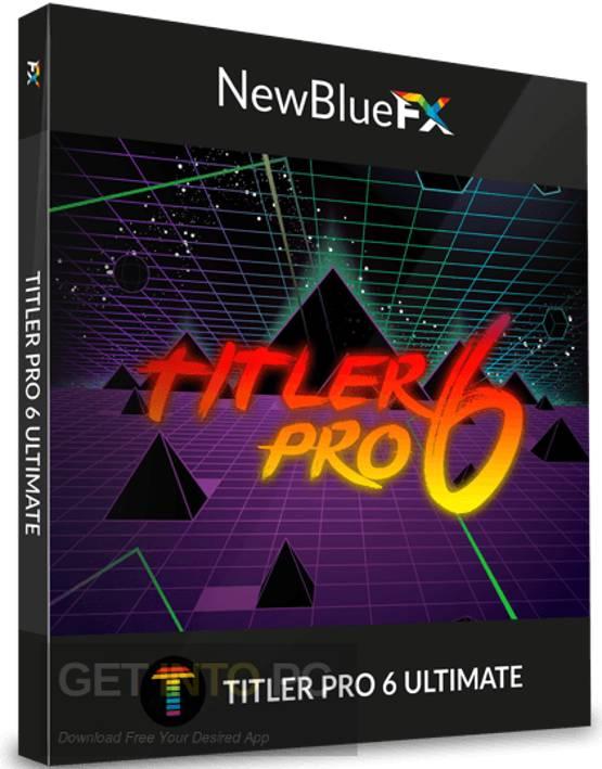 Newbluefx titler pro 5 ultimate crack plus serial key free download.