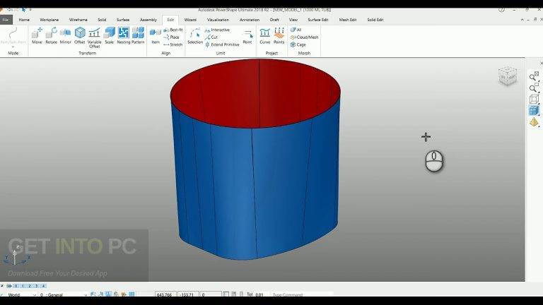 Autodesk PowerShape Ultimate 2018 Free Download