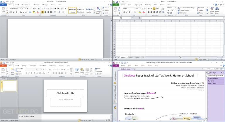 Office 2010 Professional Plus SP2 Feb 2018 Download