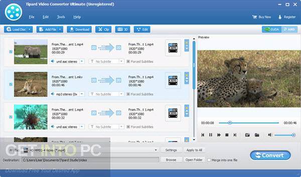 tipard video converter for android