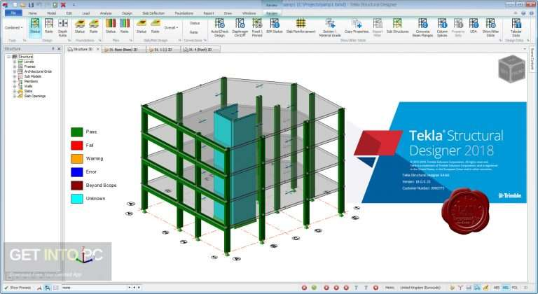 Tekla Structures Sample Projects