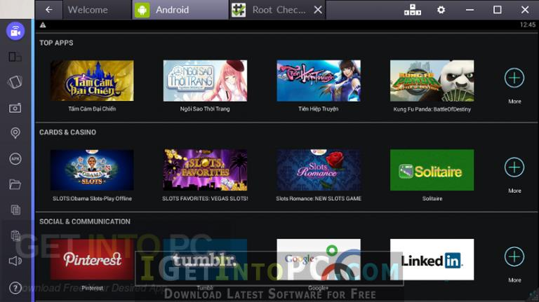 BlueStacks Rooted 2 5 4 8001 Free Download