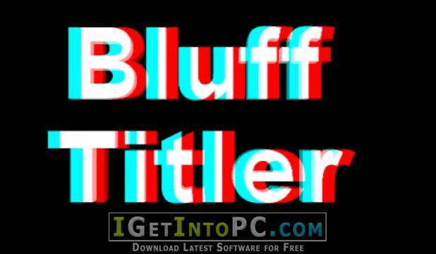 blufftitler templates free download