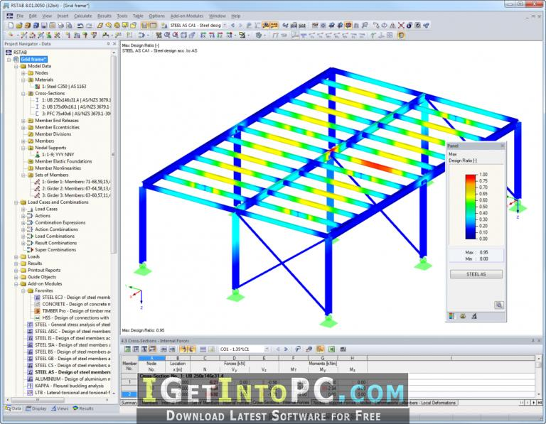 structural analysis and design software free download
