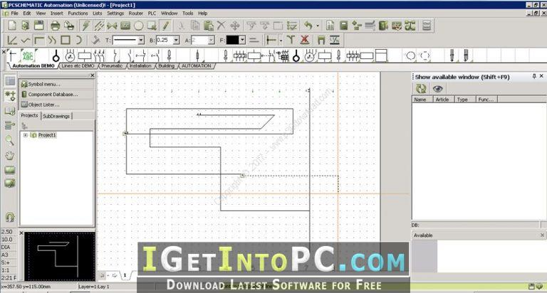 software for drawing schematic for electrical wiring diagrams and  control circuit diagrams  you can also download automation studio p6 sr9  v6 0 0 10932