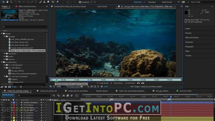 adobe after effects cc 2018 free download for windows 10