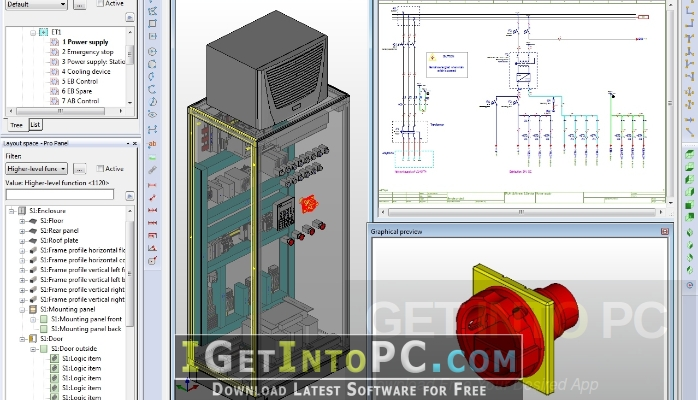 eplan pro panel 2 7 3 11418 x64 free download Electrical E Lb it also comes with the ability to directly transfer information into a format that can be used for nc machines you can also download eplan electric p8