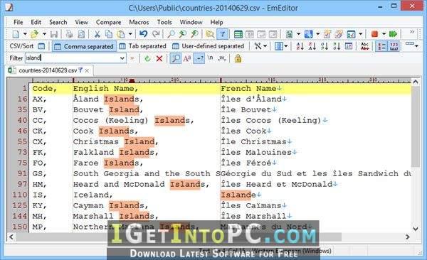 Emurasoft EmEditor Professional 17 8 0 Free Download