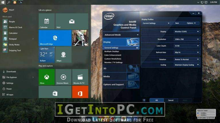Download Intel Graphics Driver for Windows 10