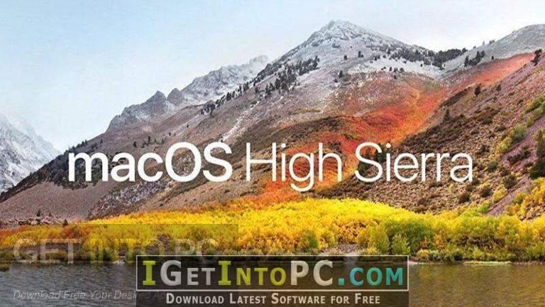 Download macos high sierra 10