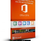 Microsoft Office 2016 Pro Plus June 2018 x64 Free Download