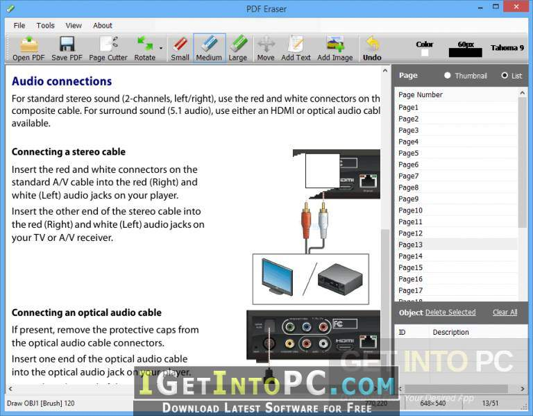 PDF Eraser Pro Free Download