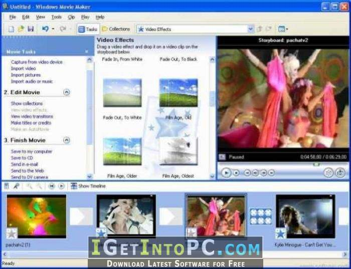 Windows live movie maker 16. 4. 3528. 0331 download for pc free.
