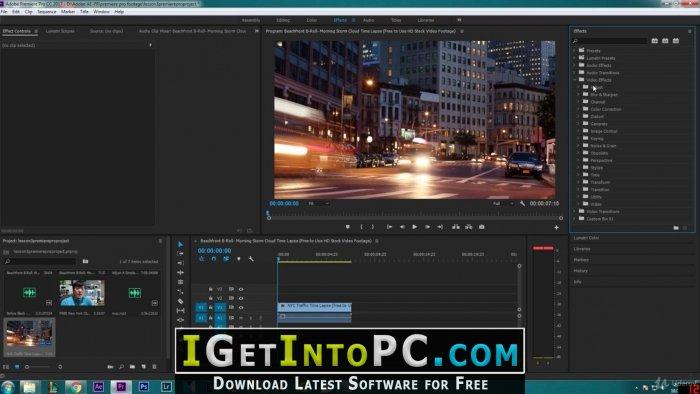 Adobe Premiere Pro CC 2018 12 1 2 69 x64 Free Download