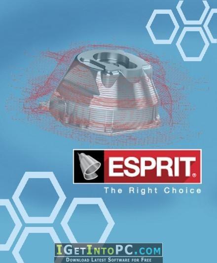 DP Technology ESPRIT 2017 R5 Free Download