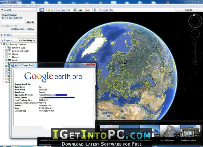 www google earth software free download com