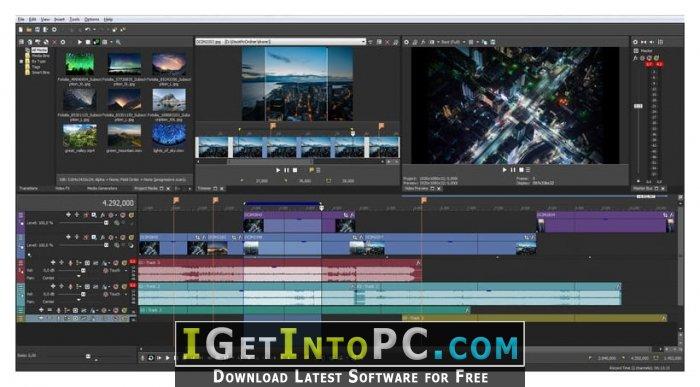 MAGIX Vegas Pro 15 0 0 Build 384 x64 Free Download