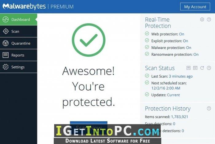 malwarebytes exploit protection will not turn on