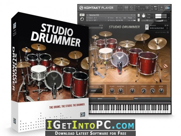 Native Instruments Studio Drummer 1 2 0 UPDATE 1 2 0 KONTAKT