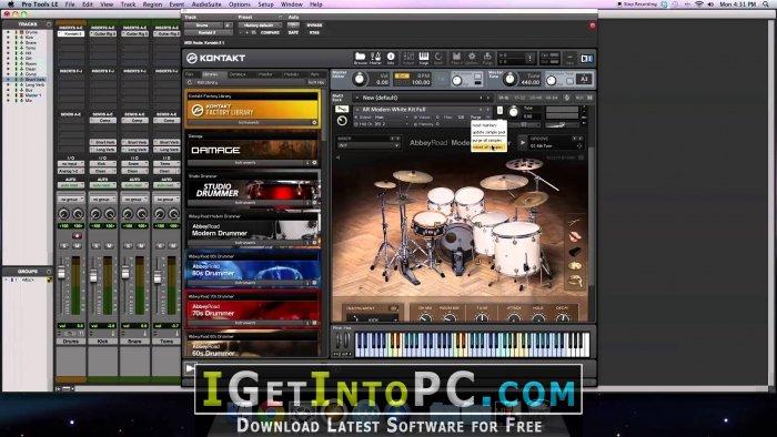 Native Instruments Studio Drummer 1 2 0 UPDATE 1 2 0 KONTAKT