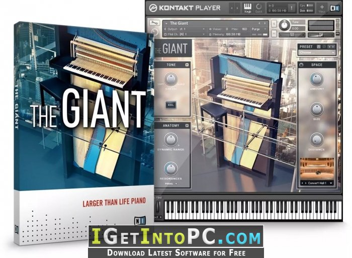 The Giant Piano Kontakt Free Download Windows And Macos