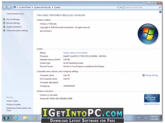 windows 7 ultimate full setup free download