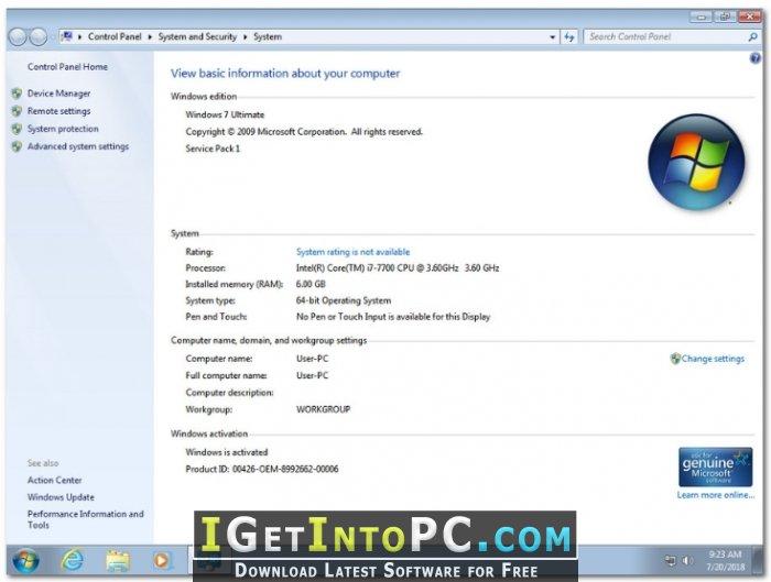 window 7 sp1 iso download