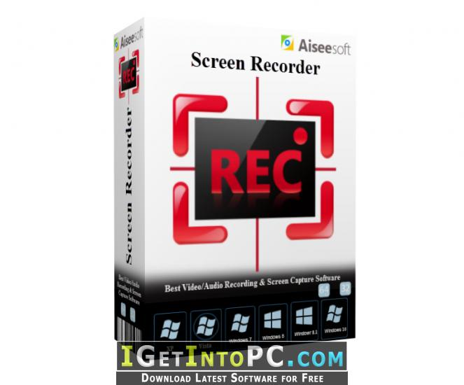 Aiseesoft Screen Recorder 2 1 10 Free Download