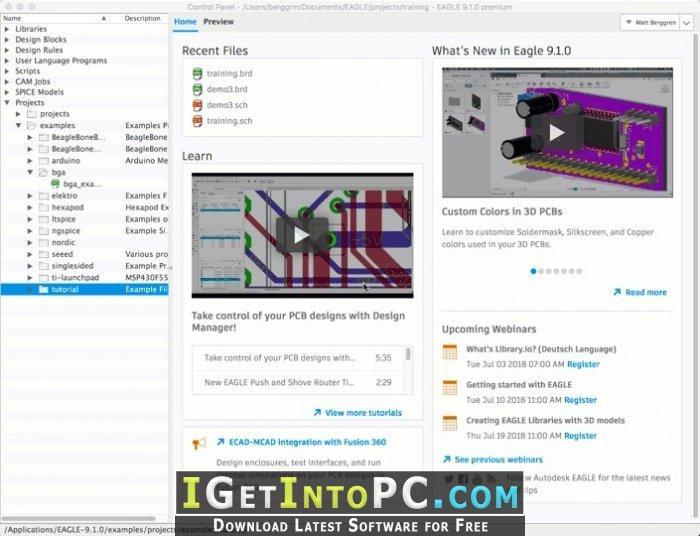 Autodesk Eagle 9 1 2 x64 Free Download