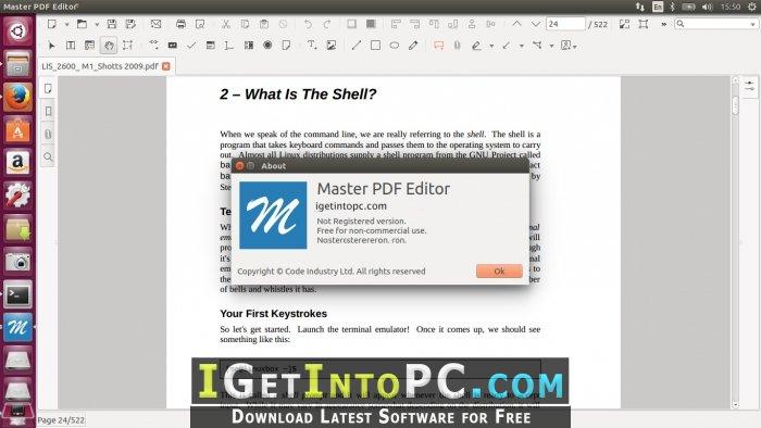 Master PDF Editor 5 1 00 Free Download
