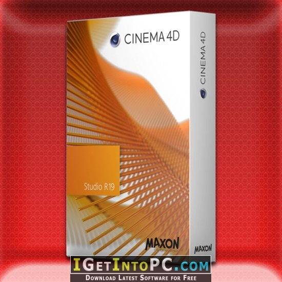 Maxon CINEMA 4D Studio R19 053 Win / Mac + Portable Free