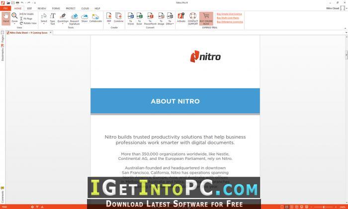 Nitro Pro Enterprise 12 1 0 195 Free Download
