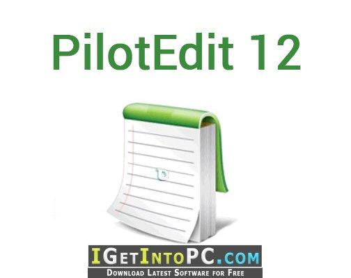 PilotEdit 12 Free Download