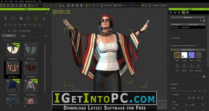 Reallusion iClone Character Creator 2 Free Download - oukas info