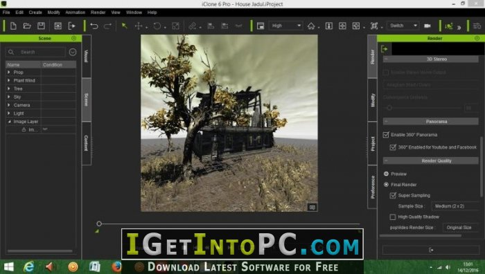 Reallusion iClone Pro 7 01 0714 1 + Resource Pack Free Download