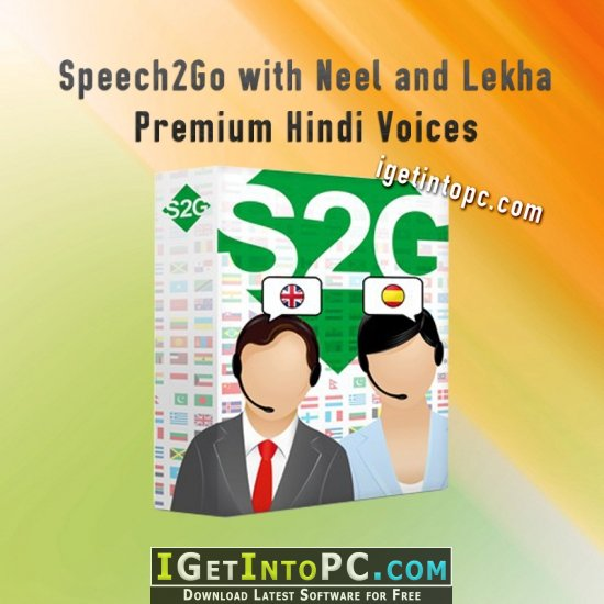 Speech2Go with Neel and Lekha Premium Hindi Voices Free Download