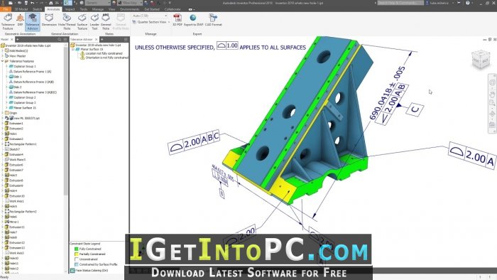 Autodesk Inventor Pro 2019 1 2 Free Download