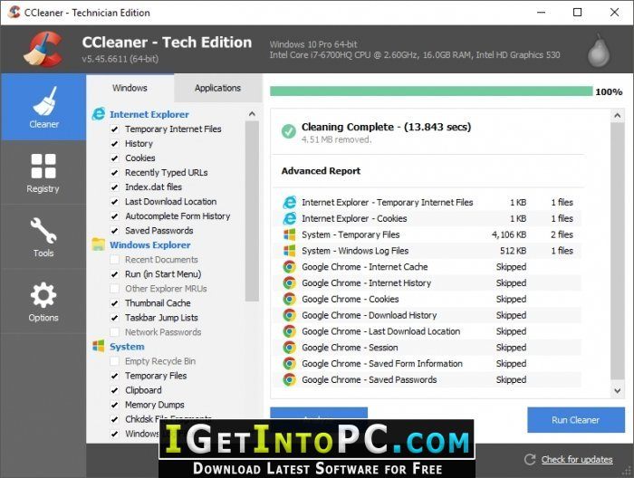 ccleaner professional free trial