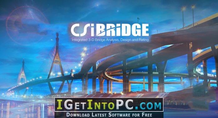 CSiBridge Advanced with Rating 20.2.0 Free Download