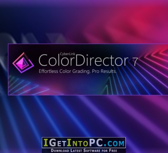 CyberLink ColorDirector Ultra 7 0 2103 0 Free Download