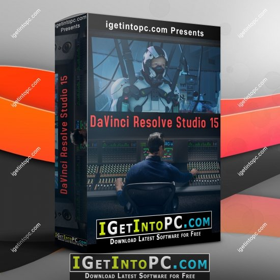 DaVinci Resolve Studio 15 1 0 23 Windows and macOS Free Download