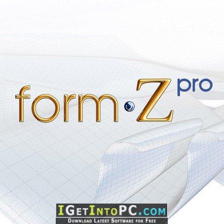 FormZ PRO 8.6.3.1 Free Download